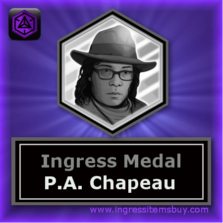 buy Ingress badges| buy ingress medals|ingress badge P.A.CHAPEAU