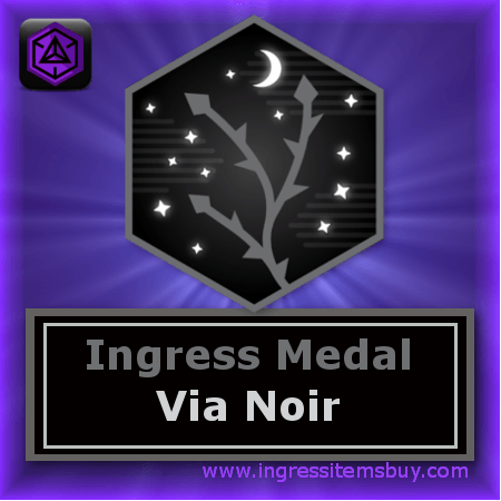 ingress badges via noir|ingress medals via noir|via noir badge|via noir medal|via noir passcode