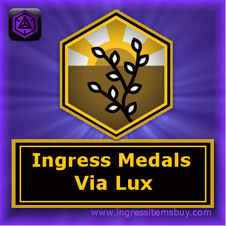 ingress via lux medal|ingress via lux badge|ingress via lux anomaly|ingress badges via lux