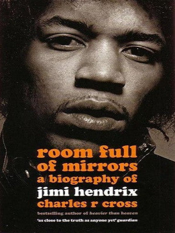 a book cover featuring the title of the book and a close up photo of Hendrix