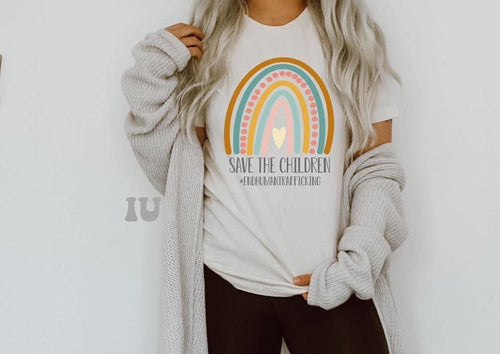 Rainbow Tee - Maple Row Boutique