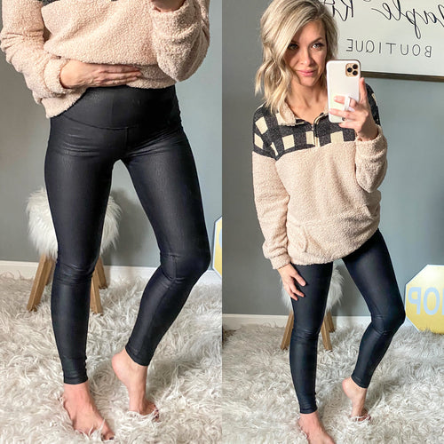 Pebble Leggings - Maple Row Boutique