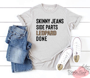 Skinny Jeans Tee - Maple Row Boutique