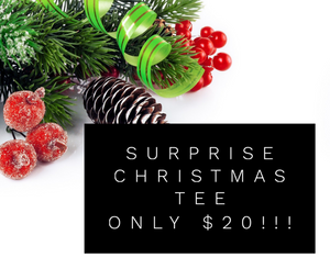 Surprise Christmas Tee - Maple Row Boutique