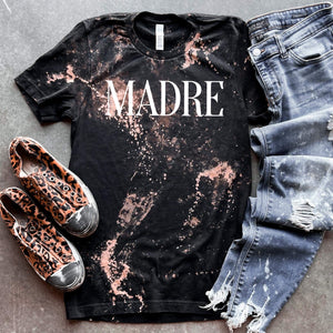 Madré Bleached Tee - Maple Row Boutique