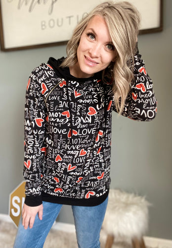 Valentines Hoodie - Maple Row Boutique