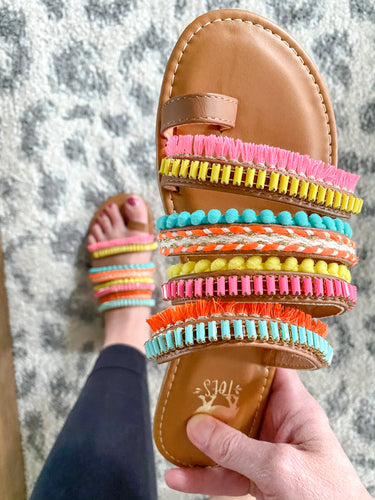 CT Boho Vibes Sandals - Maple Row Boutique