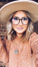 Load image into Gallery viewer, Round Retro Bluelight Glasses - Maple Row Boutique
