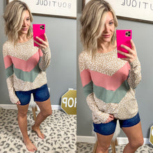 Load image into Gallery viewer, Cheetah Holly Top - Maple Row Boutique