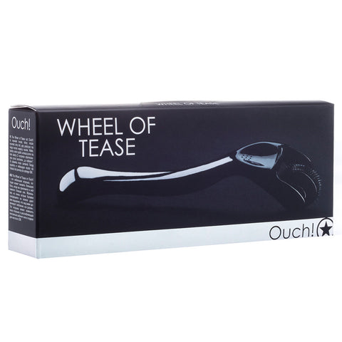 Massajador Ouch! Wheel Of Tease Preto