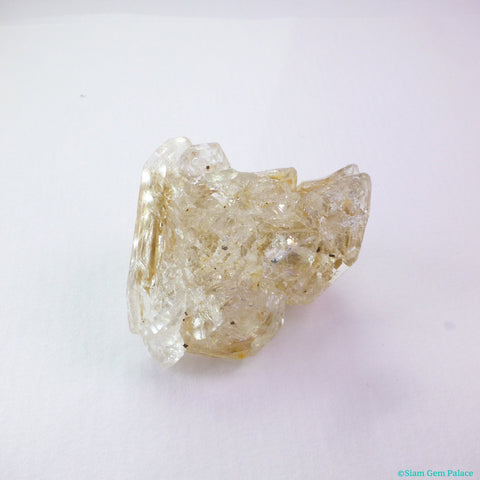 Skeletal Elestial Quartz Crystal. Can Drill. High Vibrations. 1 pc. 51 cts. 25x32x17 mm (QTZ622) - Siam Gem Palace - 1