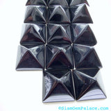 ONYX. PYRAMiD. STuD Cabochons. Xxl. 1pc. 13.50 cts. 16 mm (Ox143-1) - Siam Gem Palace - 3