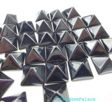 ONYX parcel. Natural. STuD CABoCHONS. PYRAMiDs. Large. 2 pc. 8 cts. 10 mm (Ox172-2) - Siam Gem Palace - 3