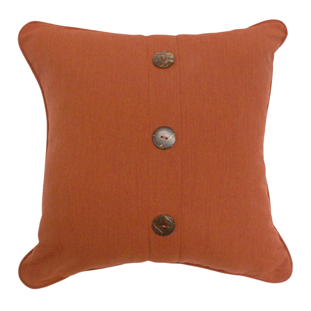 "Three Button Vertical<br><small>18""x18"" - Canvas Brick</small>"