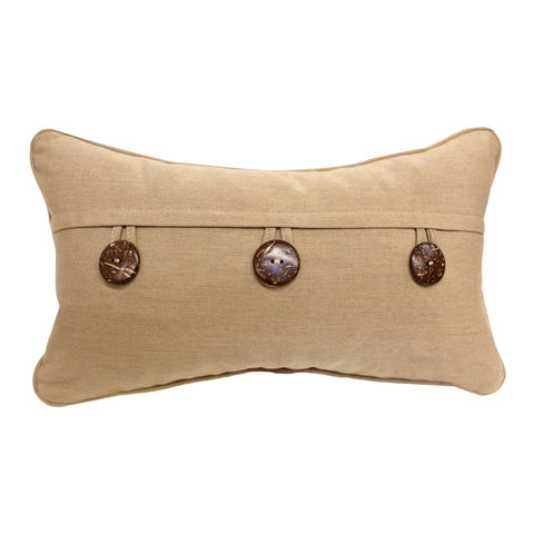 "Three Button Envelope<br><small>12""x20"" - Canvas Heather Beige</small>"