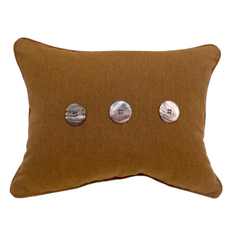 "Three Button<br><small>16""x20"" - Canvas Teak</small>"