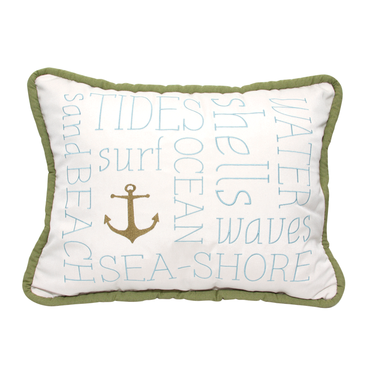 "Anchor Embroidery<br><small>16""x20"" - Canvas Canvas</small>"