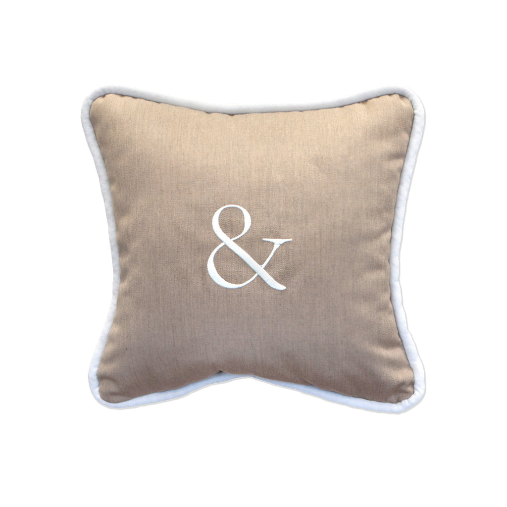 "& Embroidery<br><small>12""x12"" - Canvas Heather Beige</small>"