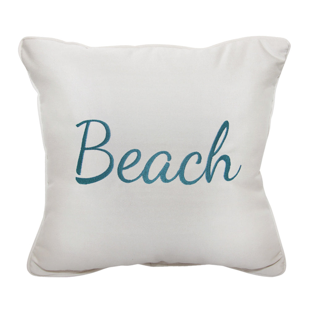 "Beach Embroidery<br><small>16""x16""- Canvas Canvas</small>"