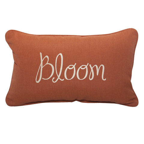 "Bloom Embroidery<br><small>13"" x 20"" - Canvas Brick</small>"