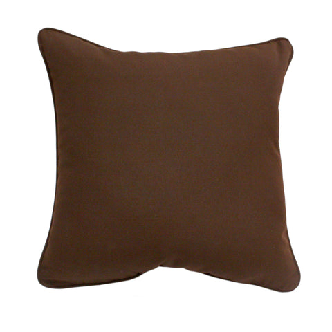 "Canvas Bay Brown<br><small>18""x18""</small>"