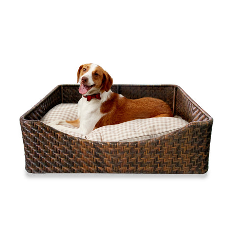 Dog Bed in Bark