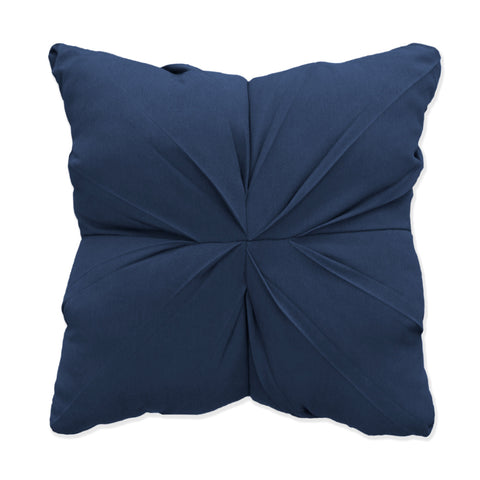 "Indigo Tufted<br><small>18""x 18"" - Spectrum Indigo</small>"