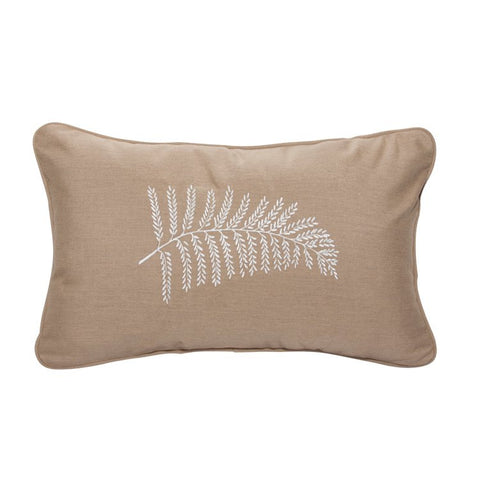 "Neutral Fern<br><small>13""x20"" - Canvas Heather Beige</small>"