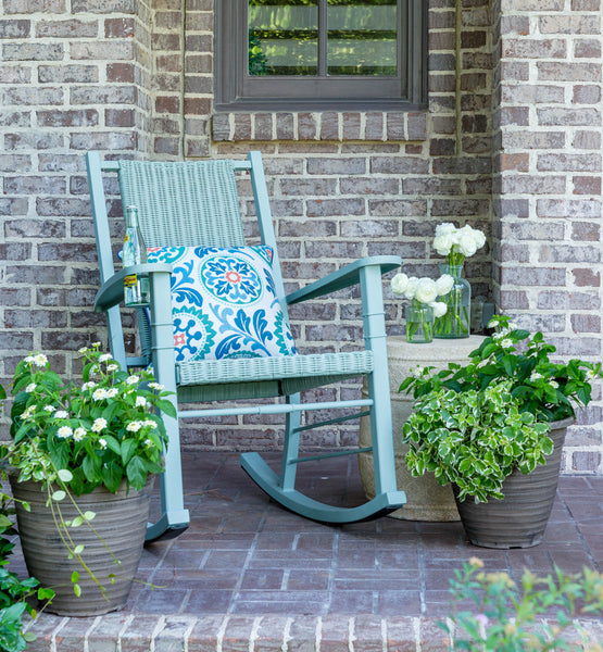 Happy Hour Rocker in Haint Blue