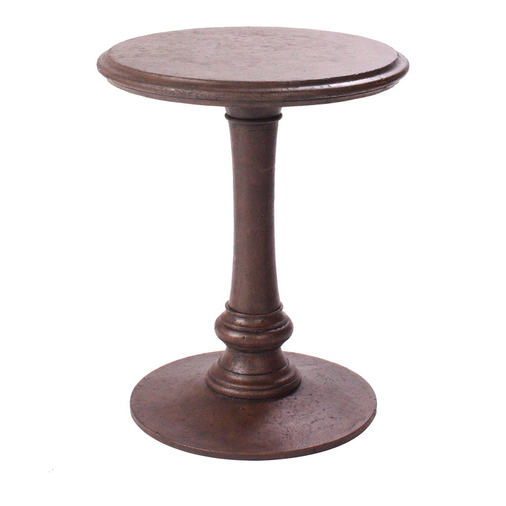 "Occasional Side Table<br><small>20""x20""x24"" - Cast Stone</small>"