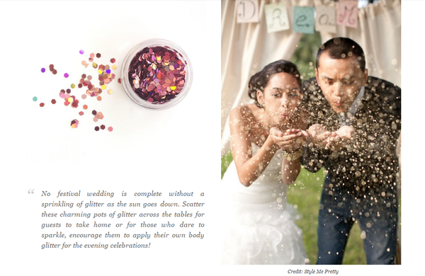 The Wedding Journal feature Dust & Dance