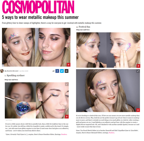 Cosmopolitan online feature Dust & Dance