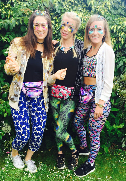 Claire Sankey founder of Dust & Dance with Abi Sutcliffe and Meriel Miller