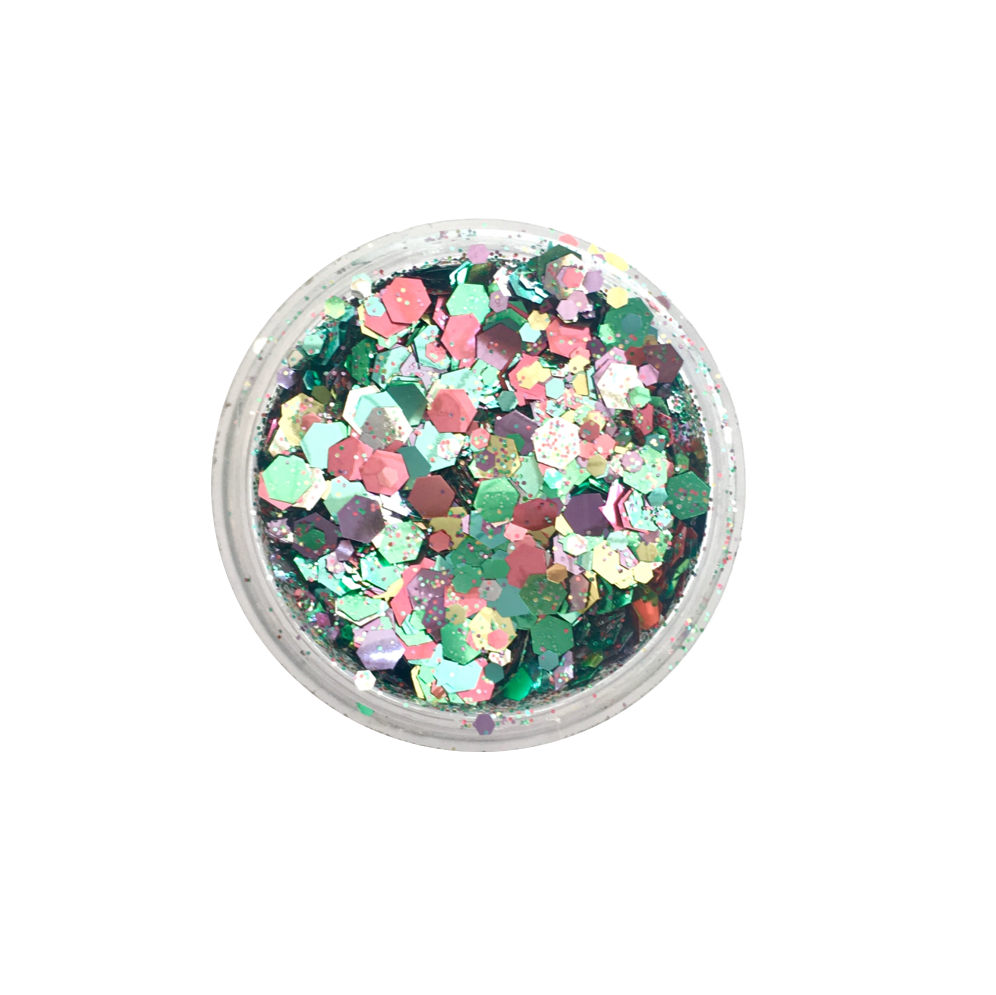 NEW! Biodegradable Glitter - Pastel Mix - Dust & Dance