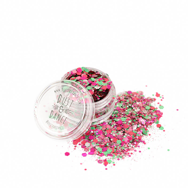 Biodegradable Glitter - Garden Mix - Dust & Dance