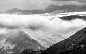 The Great Cycling Climbs in Black and White by davidt