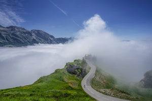 The Great Cycling Climbs - The Aubisque - Gifts for cyclists by davidt