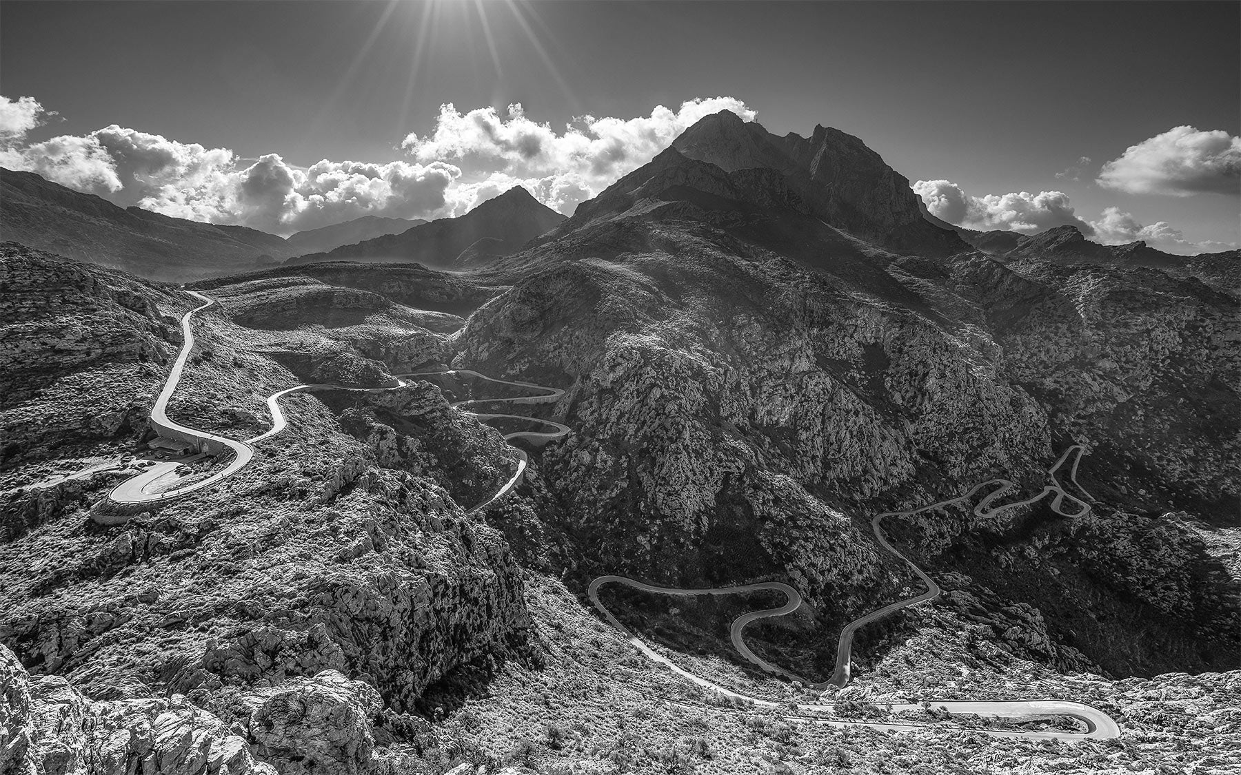 Sa Calobra - Colour fine art photography prints. The Great Cycling Road Climbs by davidt