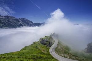 The Aubisque - Great Cycling Road Climbs - Gifts for cyclists by davidt