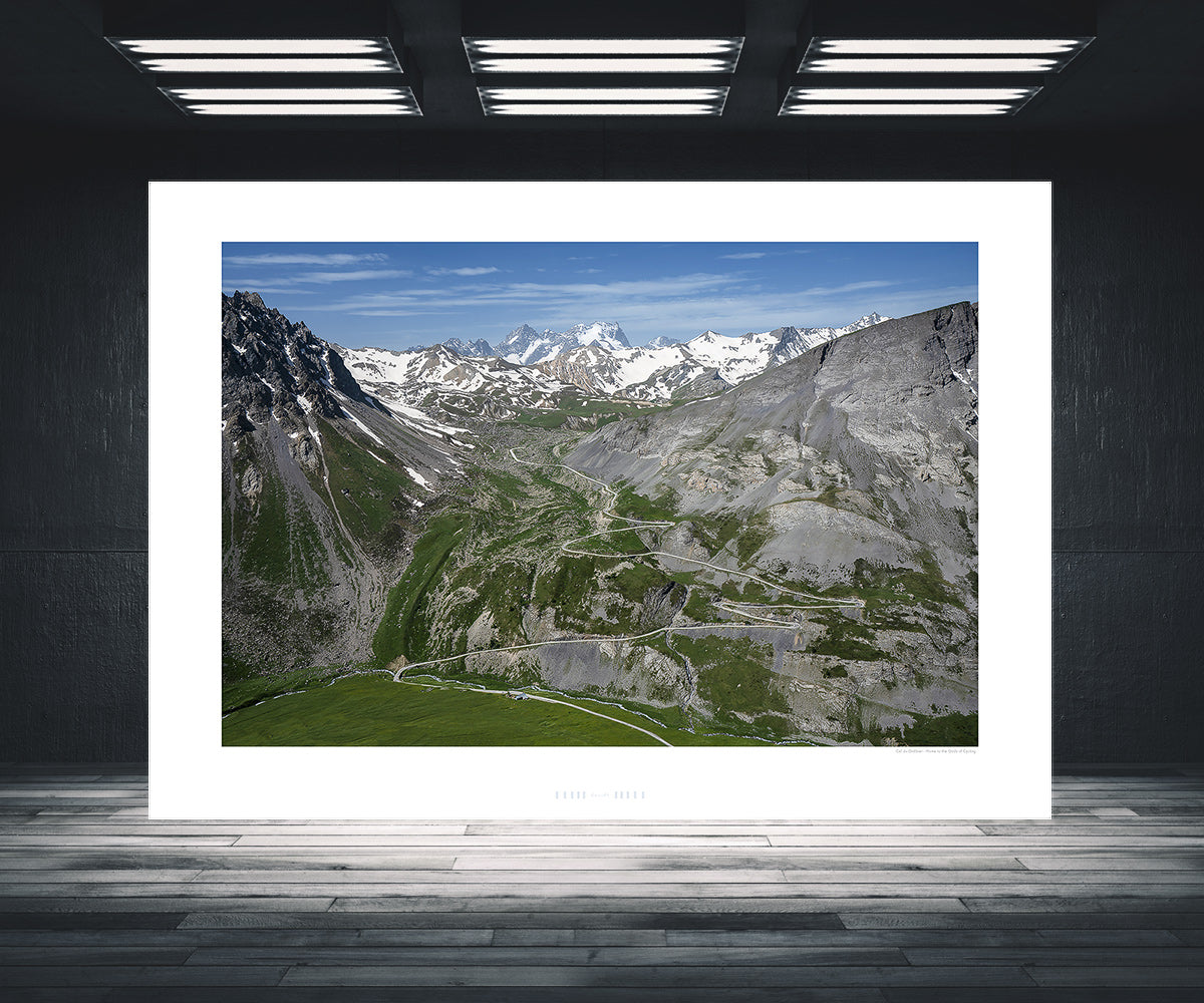 Cycling gifts - Col du Galibier - Home to the Gods of Cycling, fine art photography prints by davidt