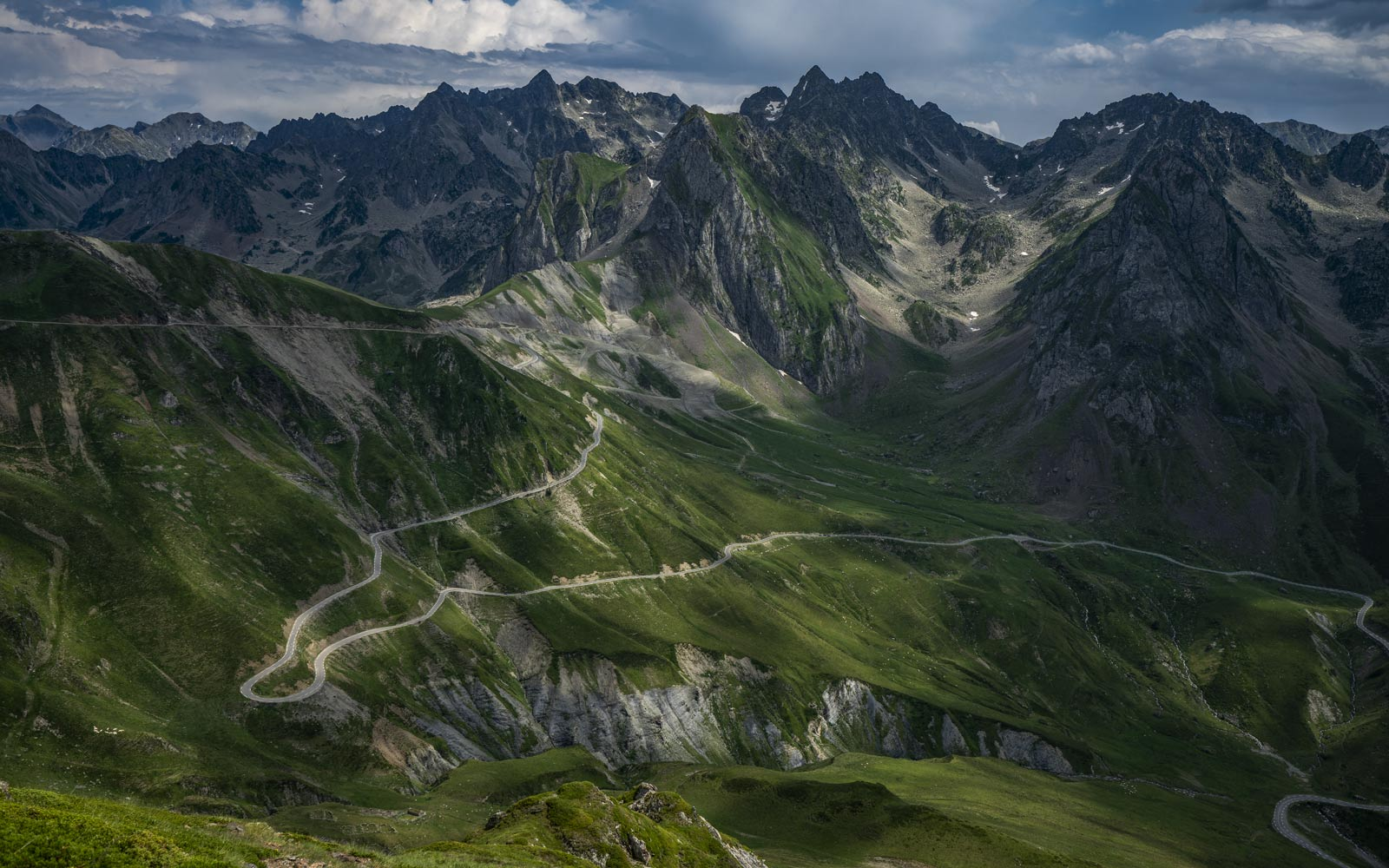 The Tourmalet - The Great Cycling Road Climbs - Gifts for cyclists by davidt