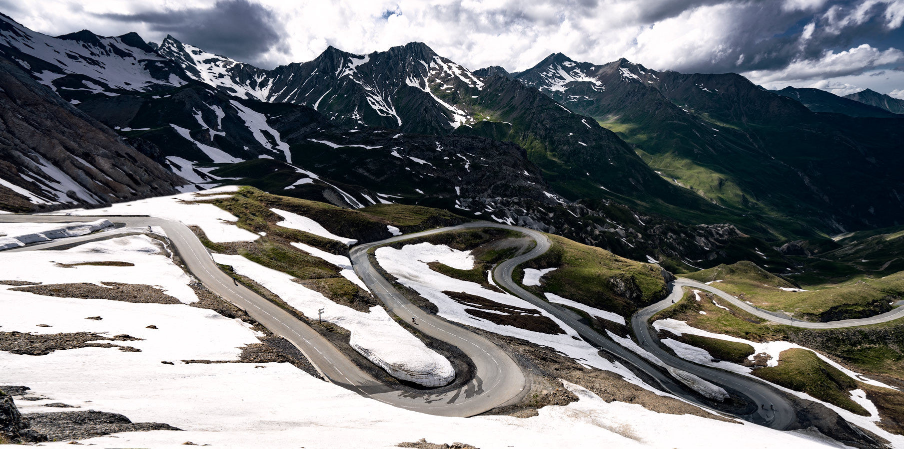 Col du Galibier, cycling photography by davidt