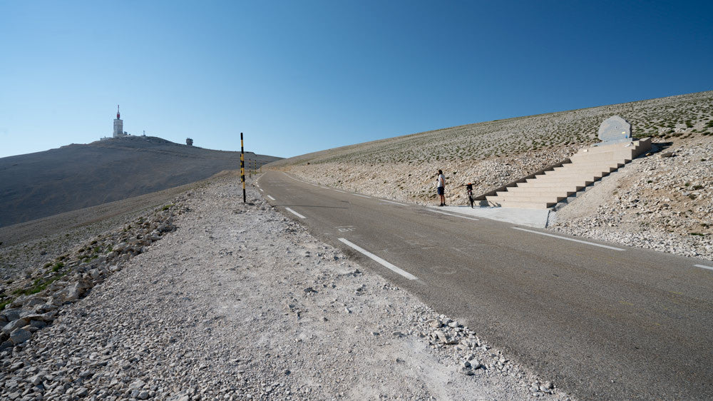 Tom Simpson Memorial on the Ventoux