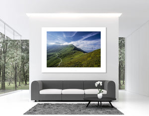 Gifts for Cycling, Cycling Art. Colle Belle Finestre Smooth Side for your home, art gallery, office and pain cave by davidt.