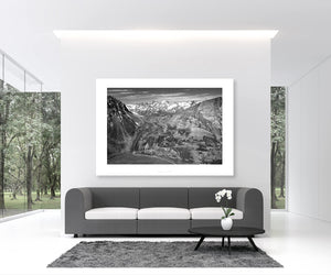 Cycling Art - Gifts for Cyclists - Col du Galibier Home to the Cycling Gods - Fine art photography prints. On of the Great Cycling Road Climbs for your home, office and pain cave by davidt. Make a house a home.