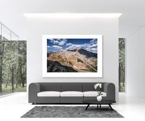 Cycling Art. Gifts for Cyclists - Col d'Izoard - Casse. One of the Great Cycling Road Climbs fine art cycling landscape photography by davidt. For your home, office and pain cave.
