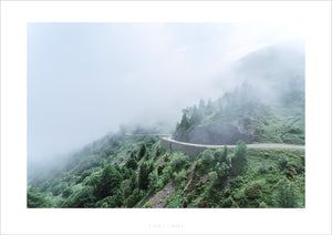 Life is a Road - Fine art cycling landscape photography prints for your home, office studio by davidt. Gifts for cyclists