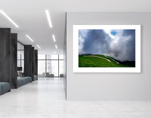 Gifts for Cyclists - No Fear - The Iconic Road Fine art cycling landscape photography for the office by davidt.
