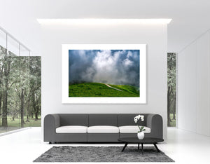 Cycling Art - It's Only Rock & Roll - From The Iconic Road - Cycling landscape photography prints for the pain cave, office, and home by davidt