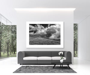 Cycling Art - Gifts for Cyclists - Over the Top - Black and White - Fine art cycling photography for your home, office, studio and pain cave by davidt